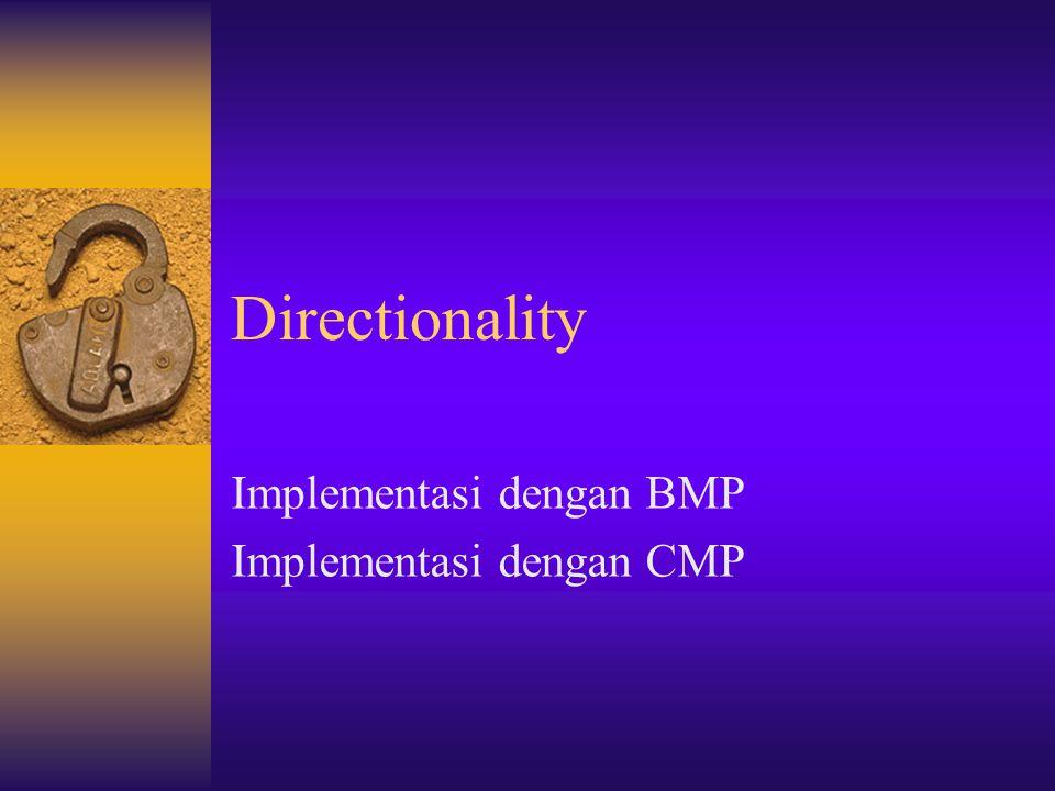 Implementasi dengan BMP Implementasi dengan CMP