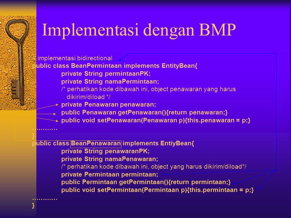 Implementasi dengan BMP