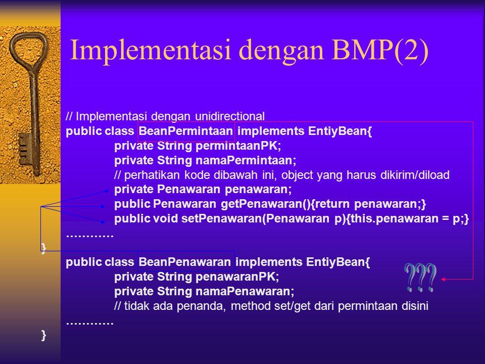 Implementasi dengan BMP(2)