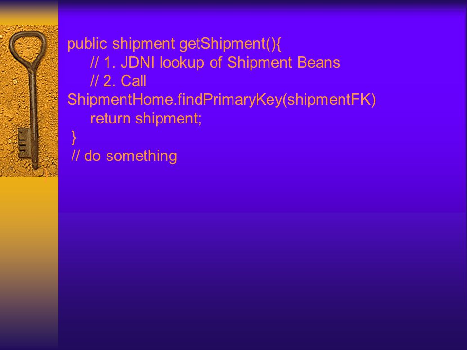 public shipment getShipment(){