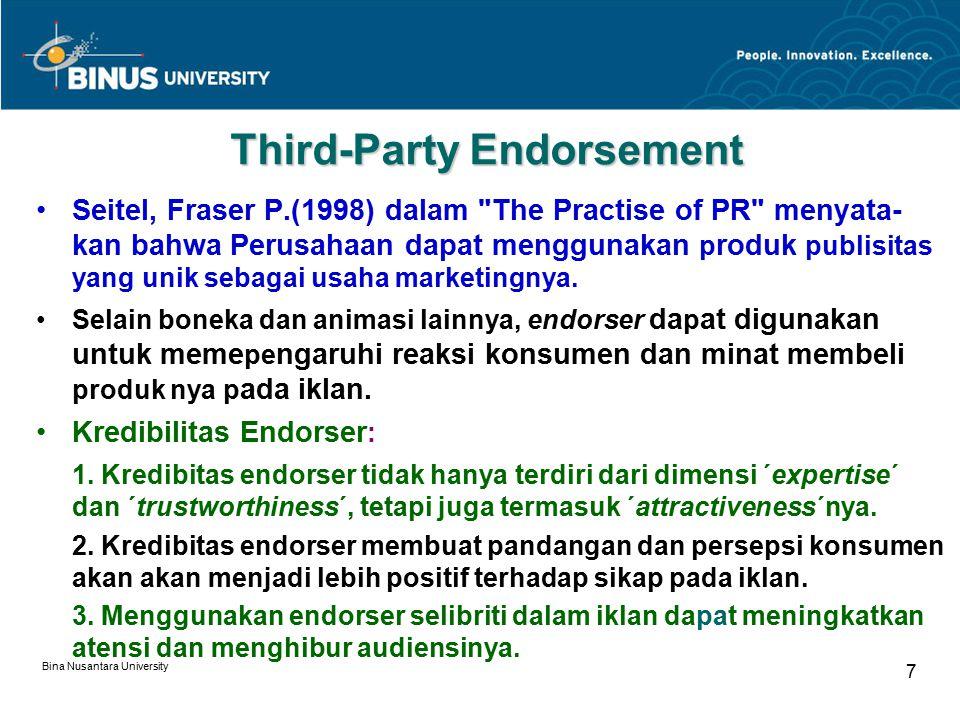 Third-Party Endorsement