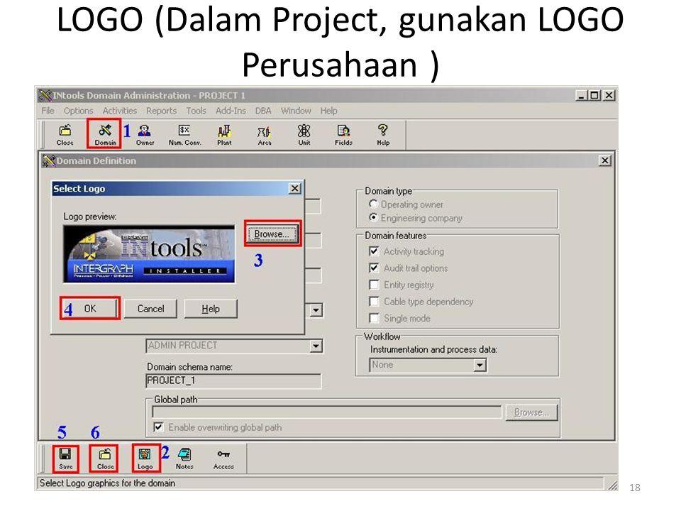 LOGO (Dalam Project, gunakan LOGO Perusahaan )