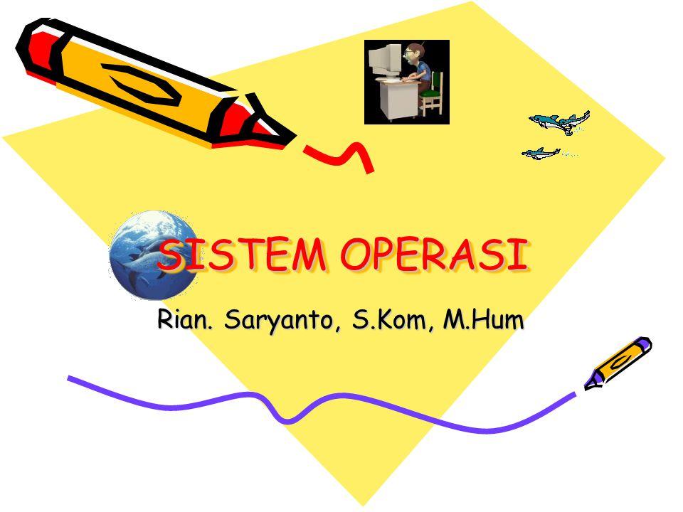 Rian. Saryanto, S.Kom, M.Hum