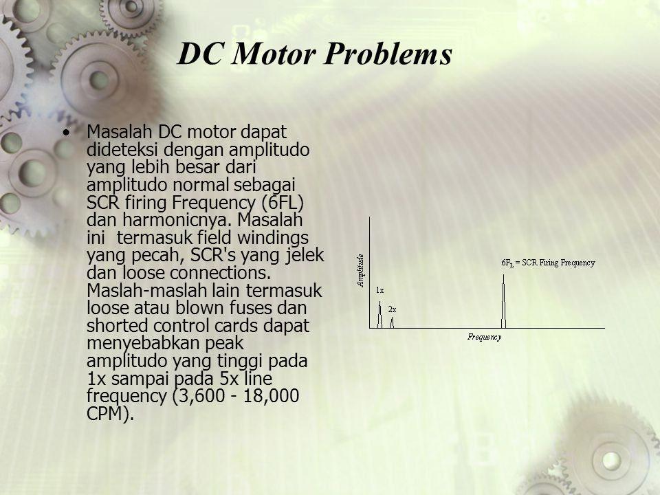 DC Motor Problems