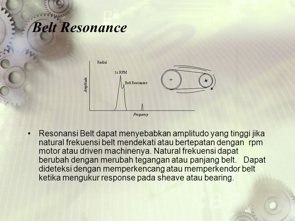 Belt Resonance