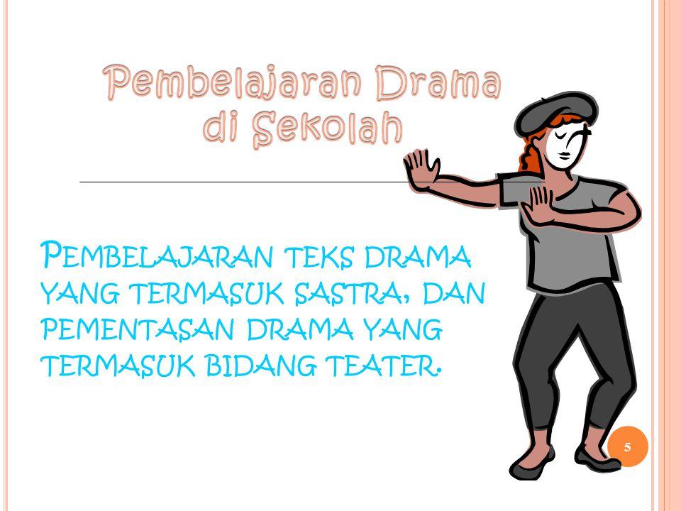 Pembelajaran Drama di Sekolah
