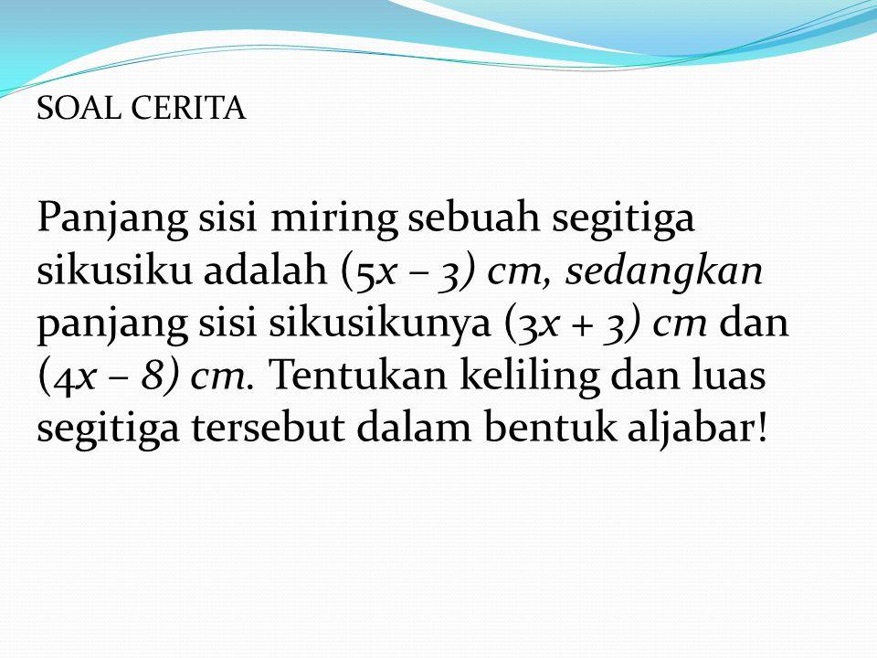 SOAL CERITA