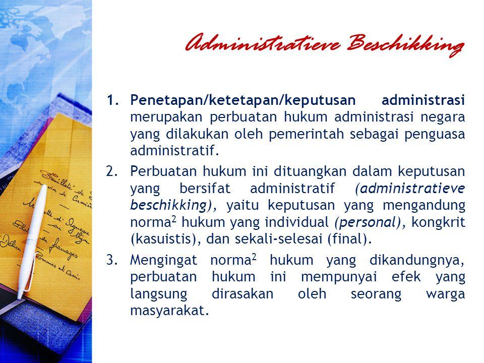 Administratieve Beschikking