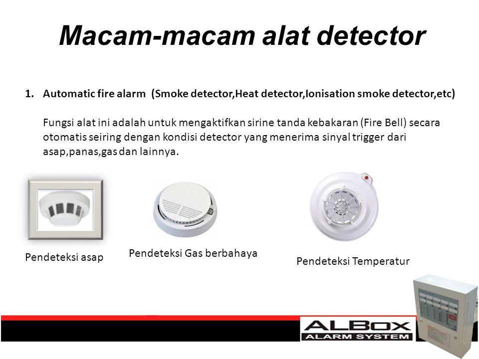 Macam-macam alat detector