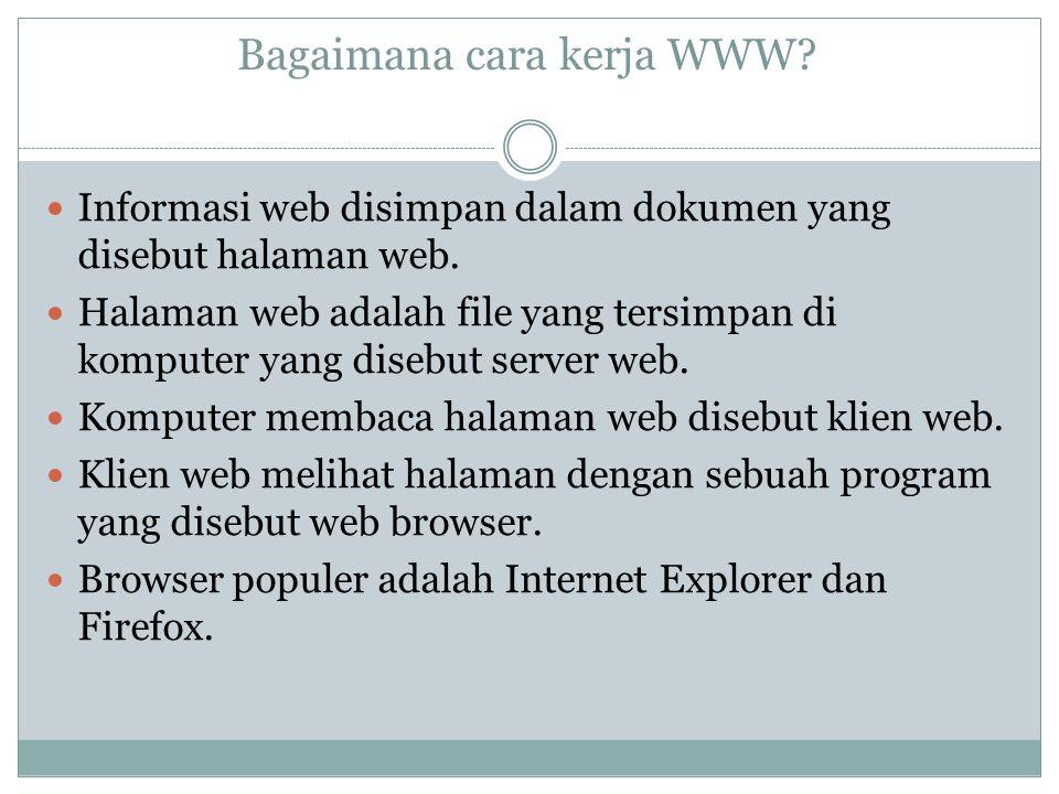Bagaimana cara kerja WWW