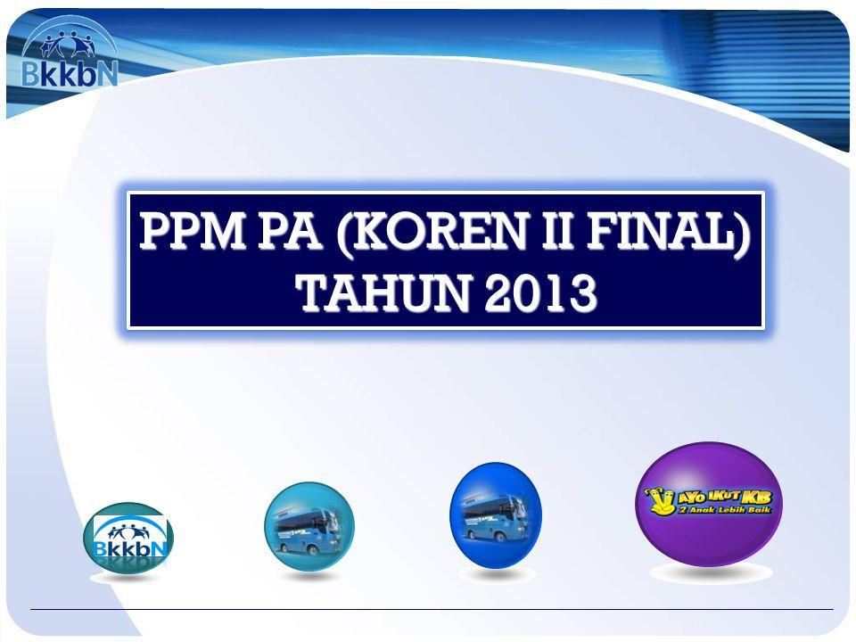 PPM PA (KOREN II FINAL) TAHUN 2013