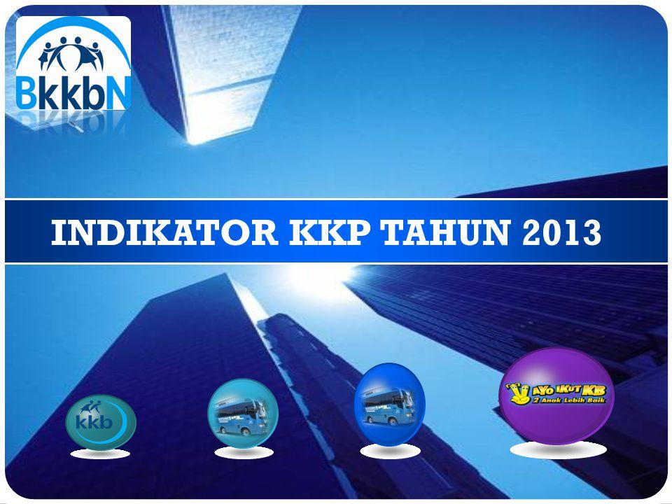INDIKATOR KKP TAHUN 2013