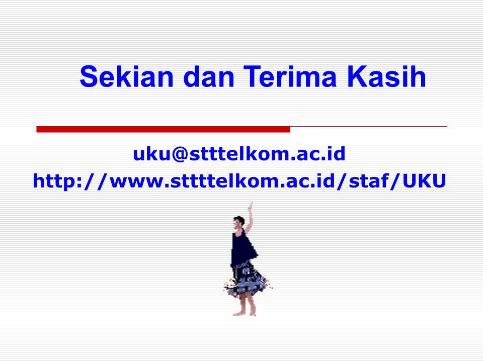 uku@stttelkom.ac.id http://www.sttttelkom.ac.id/staf/UKU