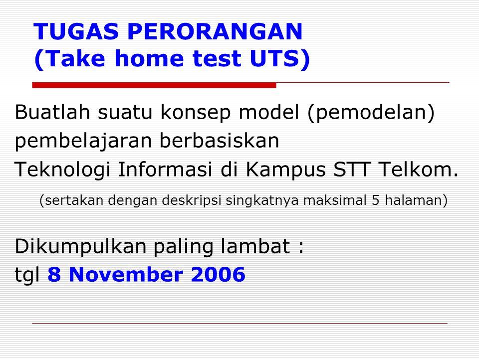 TUGAS PERORANGAN (Take home test UTS)