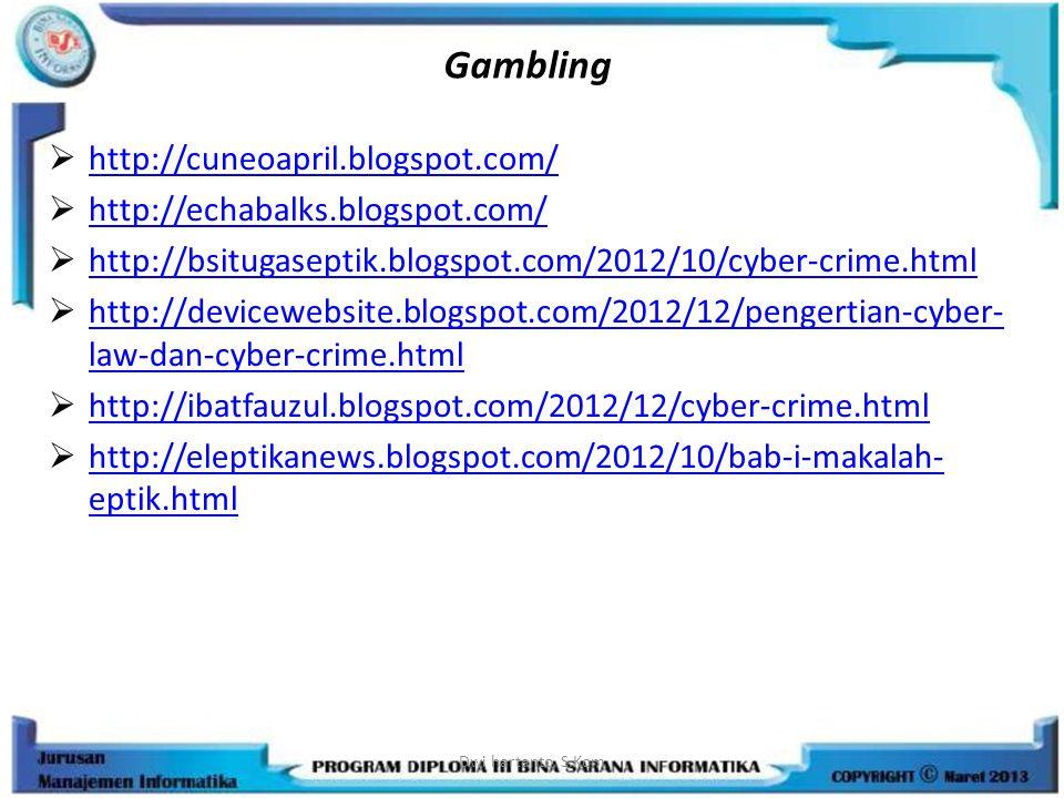 Gambling http://cuneoapril.blogspot.com/