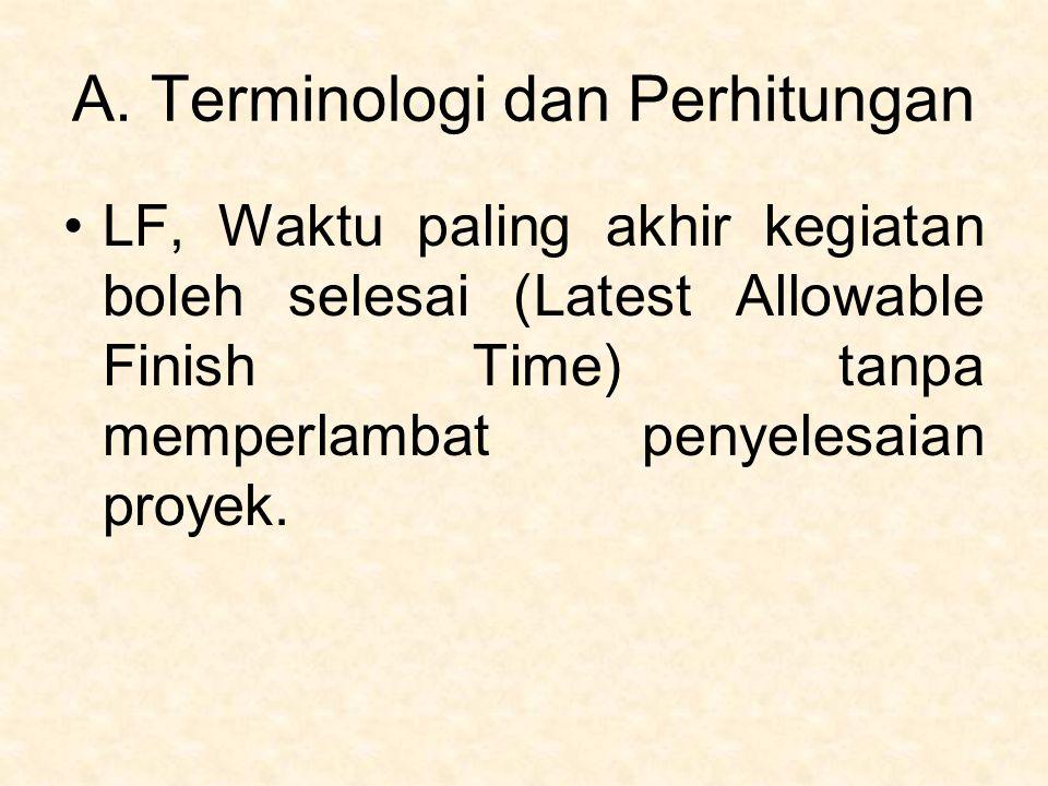 A. Terminologi dan Perhitungan
