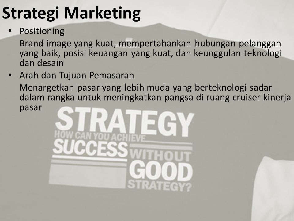 Strategi Marketing Positioning