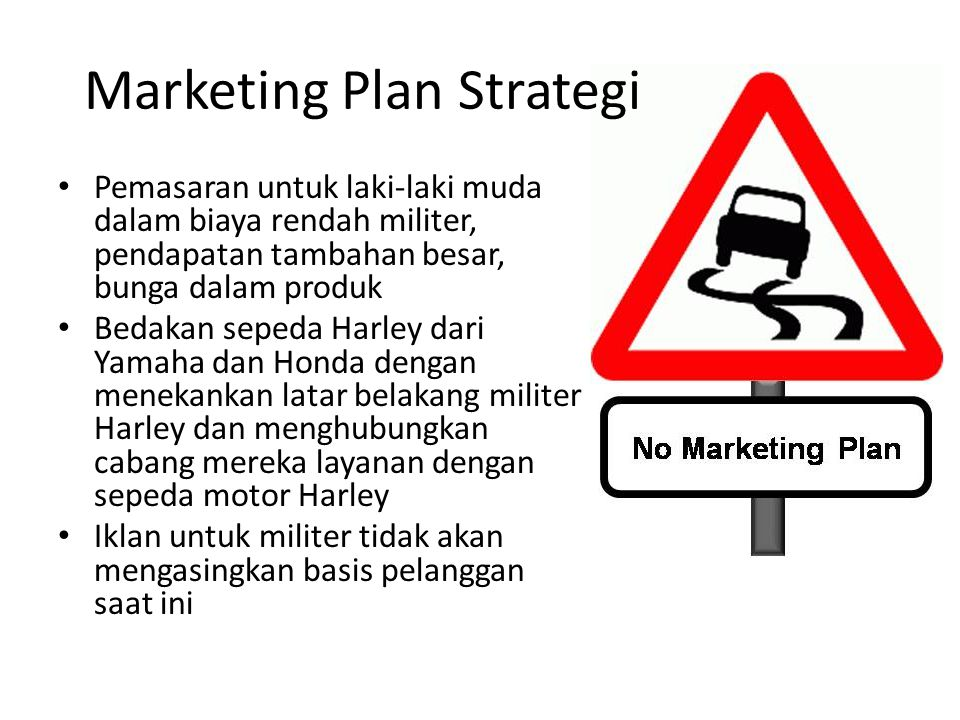 Marketing Plan Strategi