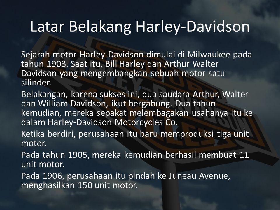 Latar Belakang Harley-Davidson