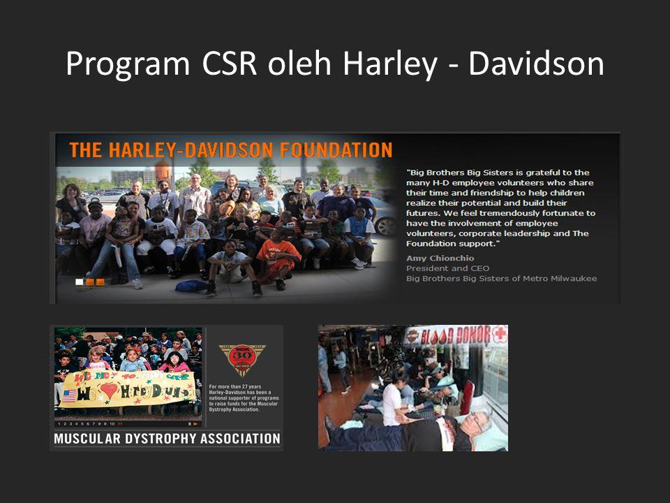 Program CSR oleh Harley - Davidson