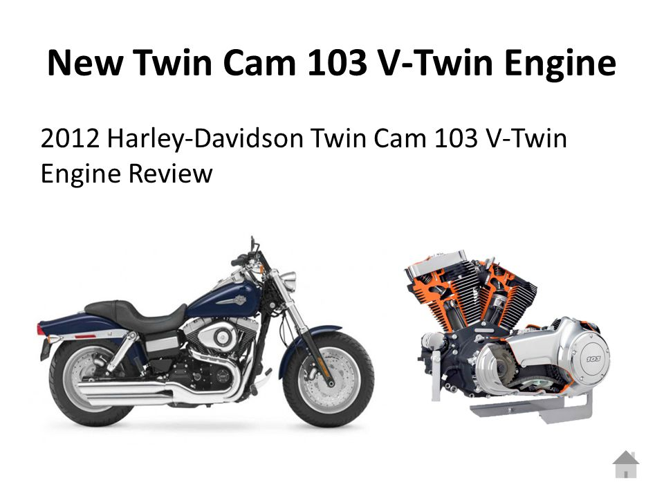 New Twin Cam 103 V-Twin Engine