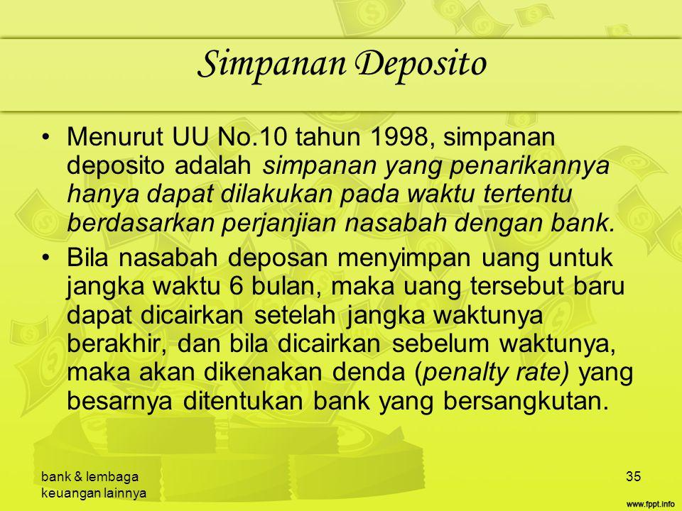 Simpanan Deposito