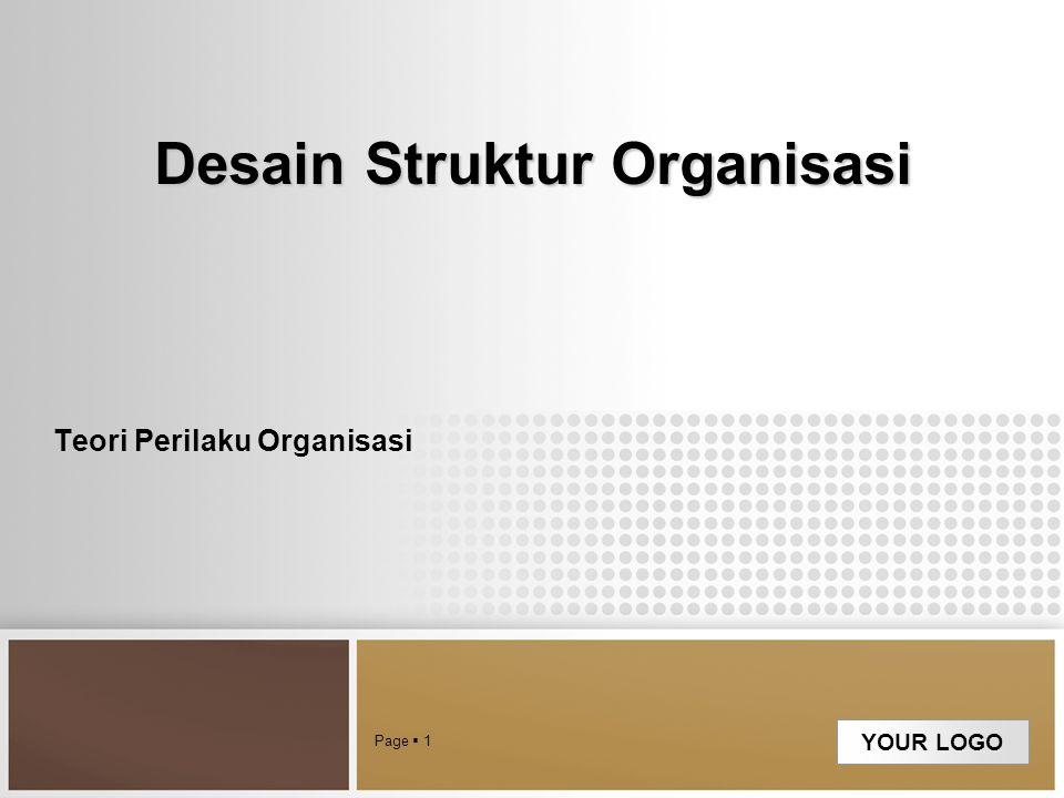 Desain Struktur Organisasi
