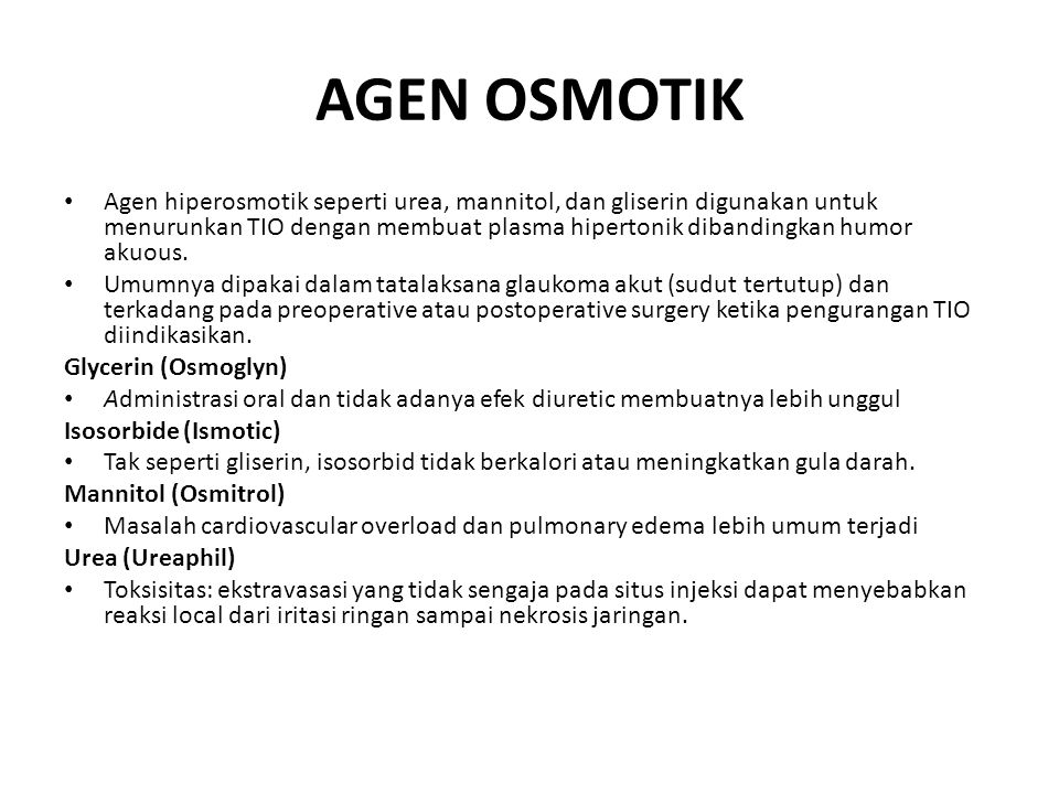 AGEN OSMOTIK