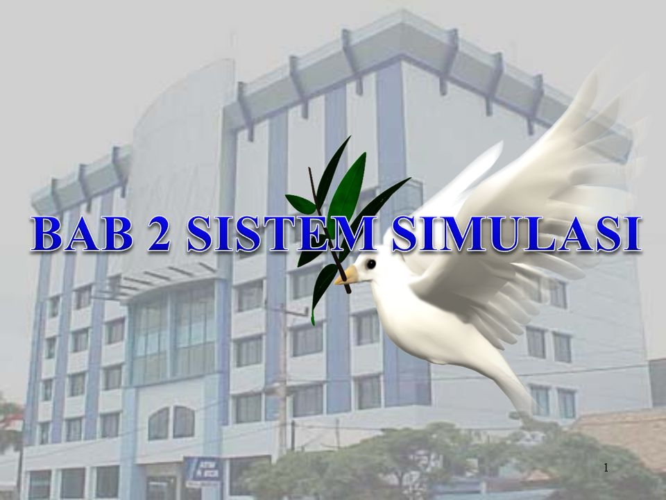 BAB 2 SISTEM SIMULASI
