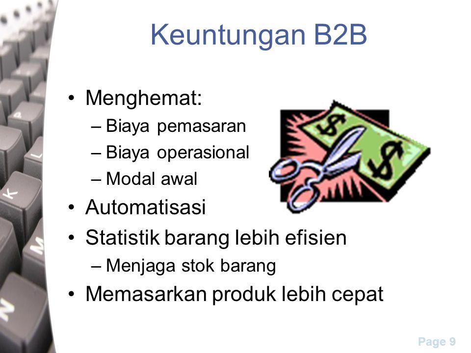 Keuntungan B2B Menghemat: Automatisasi Statistik barang lebih efisien