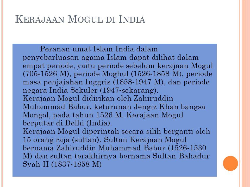 Kerajaan Mogul di India