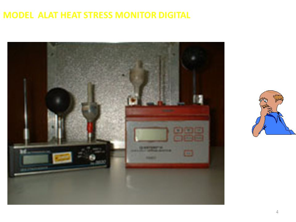 MODEL ALAT HEAT STRESS MONITOR DIGITAL