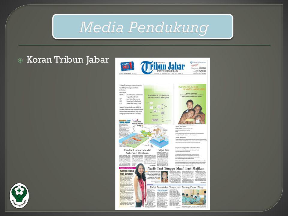 Media Pendukung Koran Tribun Jabar