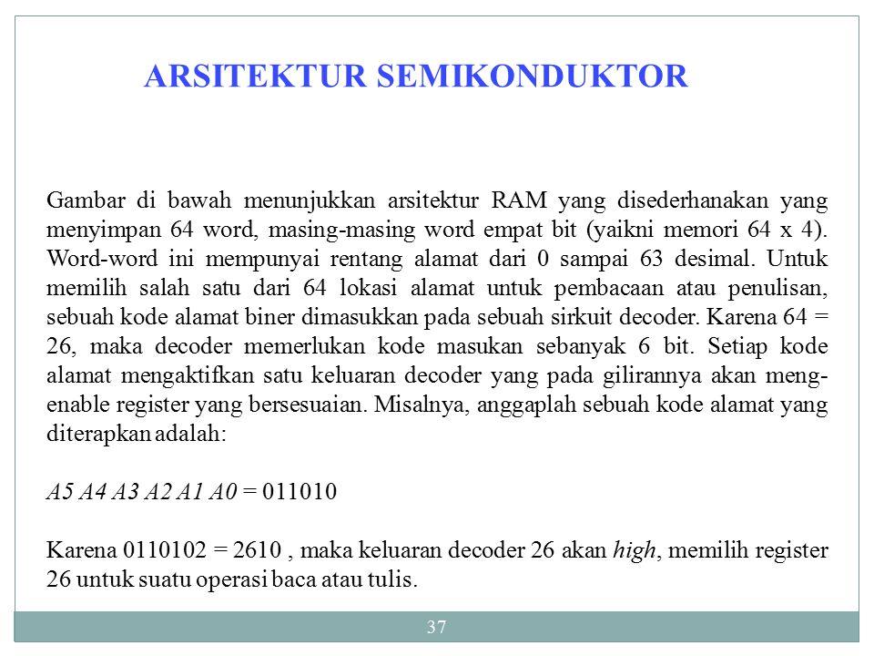 ARSITEKTUR SEMIKONDUKTOR