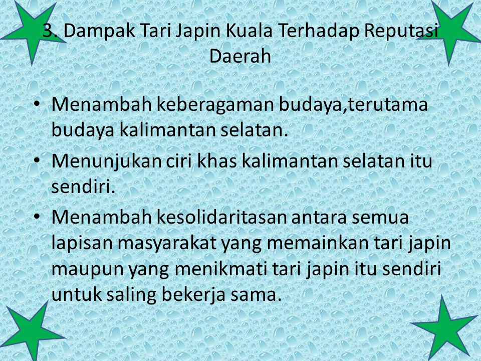3. Dampak Tari Japin Kuala Terhadap Reputasi Daerah