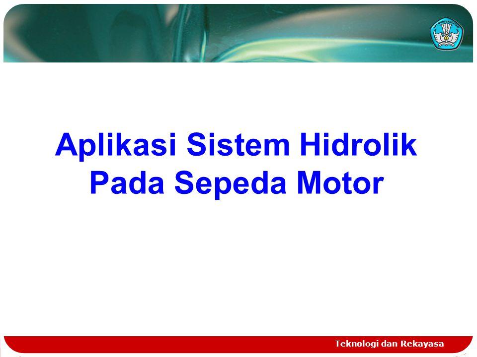Aplikasi Sistem Hidrolik Pada Sepeda Motor