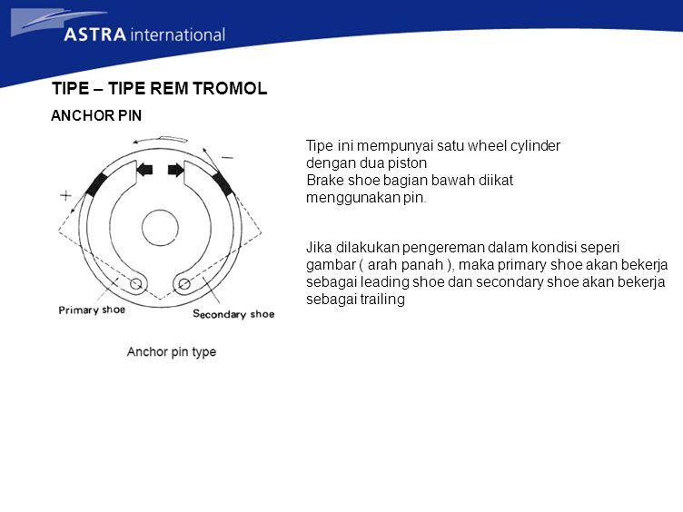 TIPE – TIPE REM TROMOL ANCHOR PIN