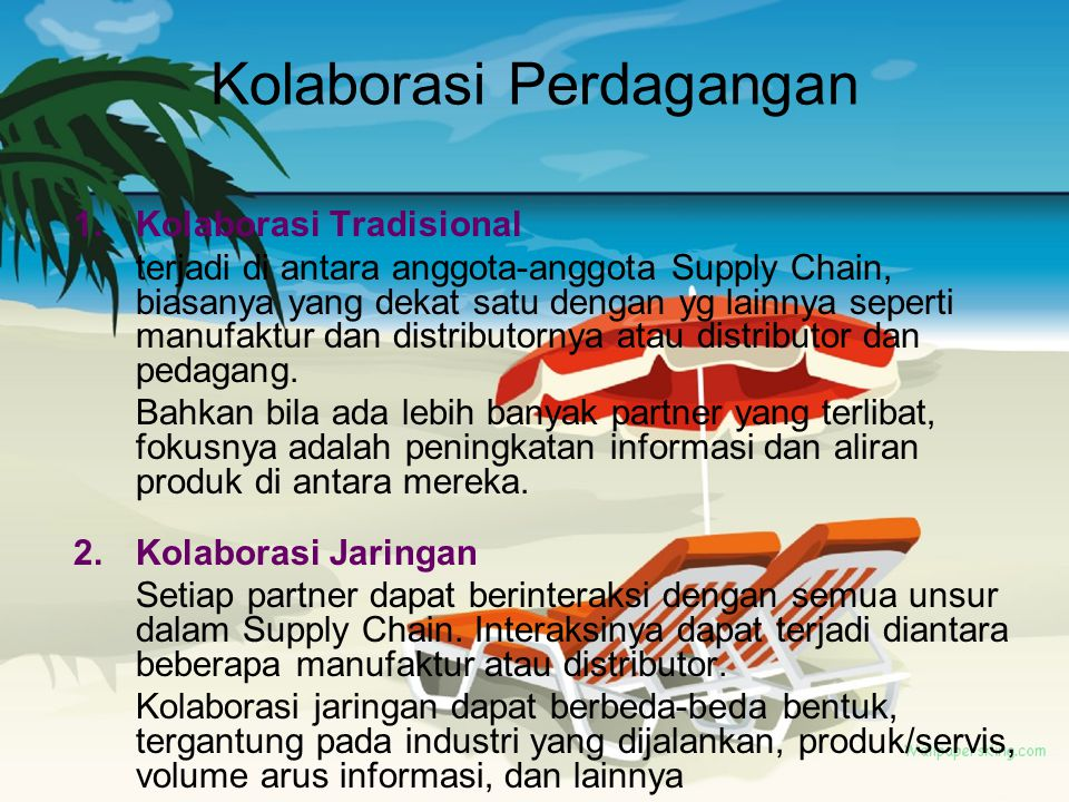 Kolaborasi Perdagangan
