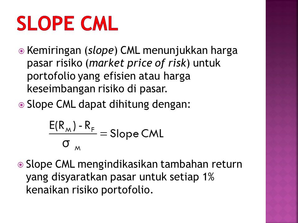 SLOPE CML