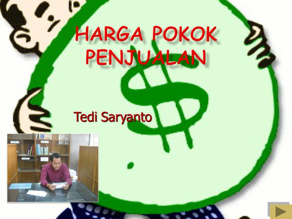 HARGA POKOK PENJUALAN Tedi Saryanto
