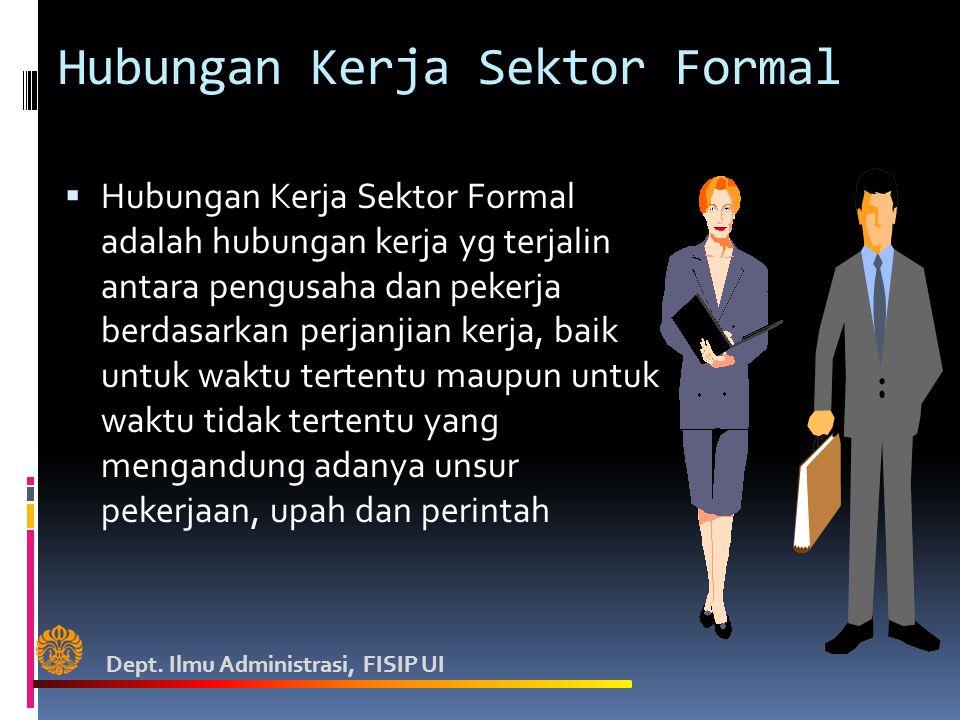 Hubungan Kerja Sektor Formal