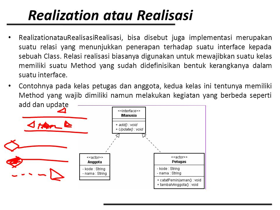 Realization atau Realisasi