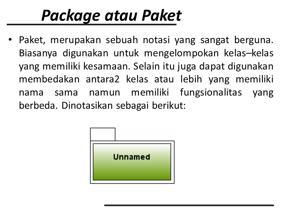 Package atau Paket