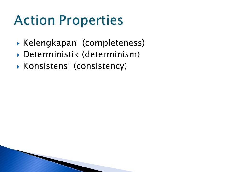 Action Properties Kelengkapan (completeness)