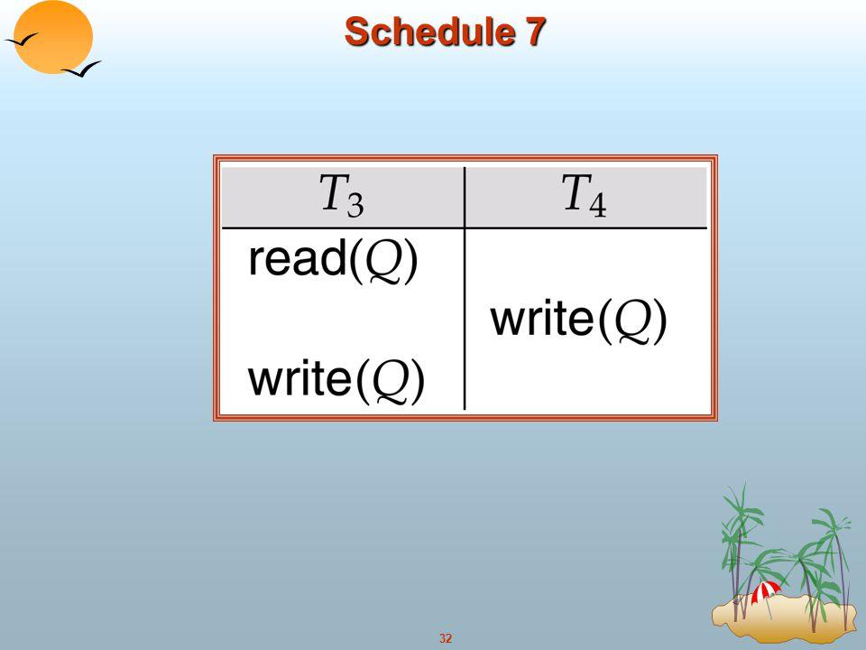 Schedule 7
