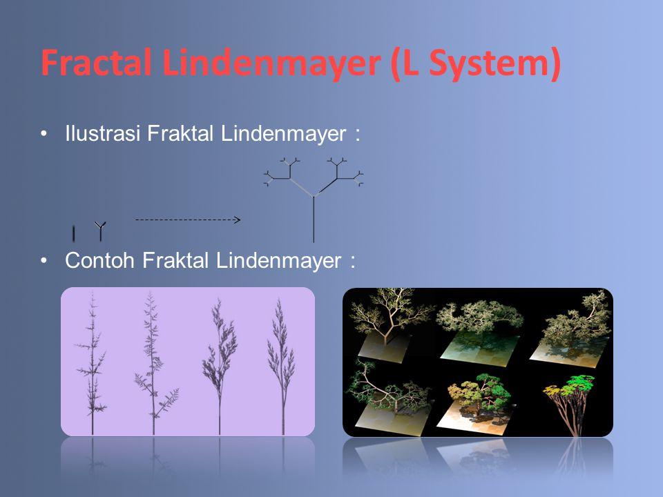 Fractal Lindenmayer (L System)