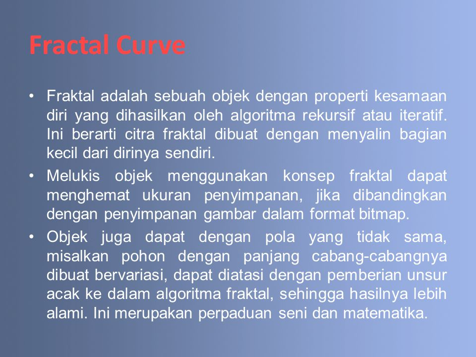 Fractal Curve