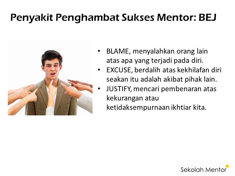 Penyakit Penghambat Sukses Mentor: BEJ