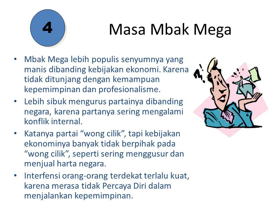 4 Masa Mbak Mega.
