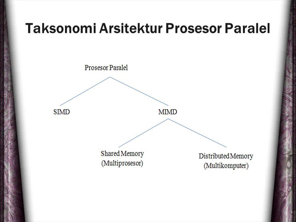 Taksonomi Arsitektur Prosesor Paralel